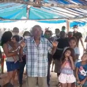 familias acampadas