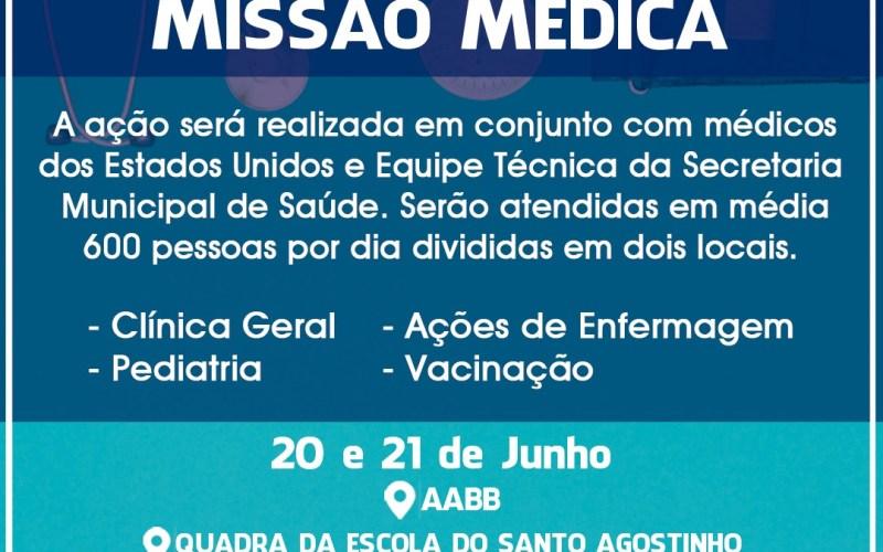 Prefeitura conquista missão médica para Santa Cruz do Capibaribe