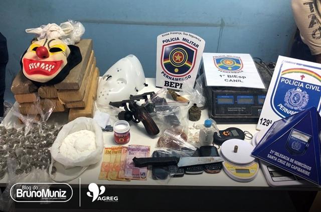 Polícia Civil de Pernambuco realiza intervenção tática em Toritama, no Agreste