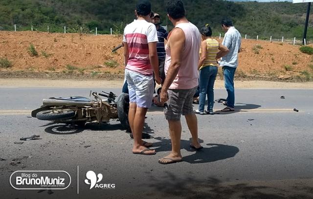 Acidente é registrado na BR-104 no município de Taquaritinga do Norte