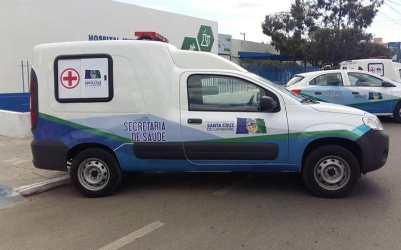 Secretaria de Saúde de Santa Cruz do Capibaribe conta com seis novos veículos