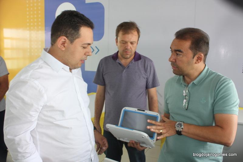 Cleiton Barboza visita Toritama e conhece de perto os detalhes da gestão pública local