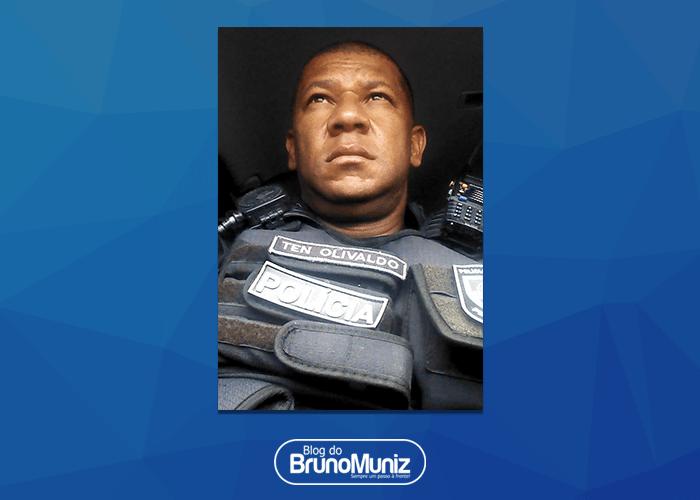 Tenente Olivaldo do 24º BPM morre em acidente motociclístico