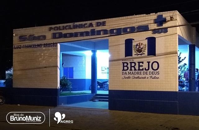 Mulher com ferimento provocado por objeto perfuro-cortante dá entrada na Policlínica de São Domingos
