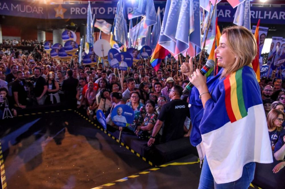 Alessandra Vieira oficializa candidatura a deputada estadual por Pernambuco