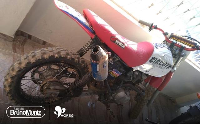 Moto roubada é encontrada no Agreste Pernambucano