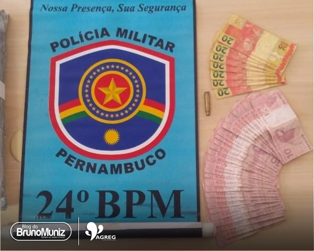 Homem é detido por comercializar notas falsas em Santa Cruz do Capibaribe