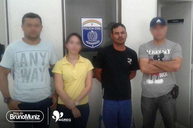 Policiais prendem acusado de praticar homicídio na zona rural de Vertentes