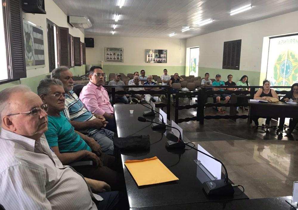 Cleiton Barboza participa de encontro com agricultores de Taquaritinga do Norte