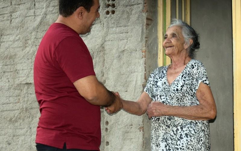 Cleiton Barboza volta ao bairro São Miguel, em Santa Cruz do Capibaribe