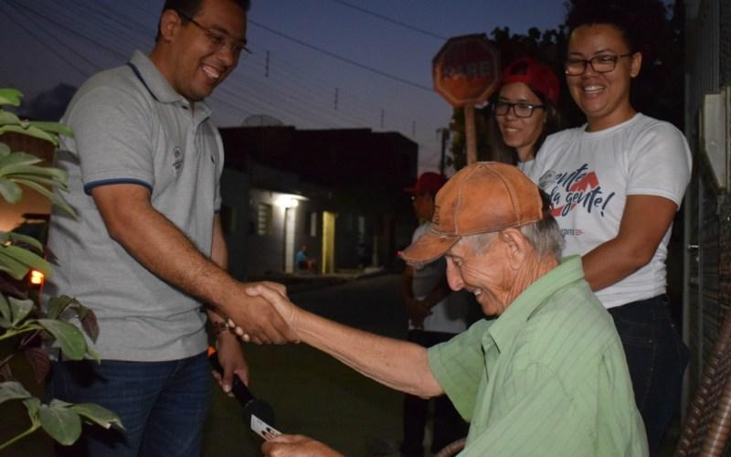 Cleiton Barboza cumpre agenda em bairros de Santa Cruz do Capibaribe