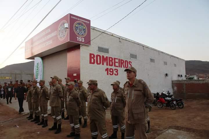 Toritama ganha unidade do Corpo de Bombeiros
