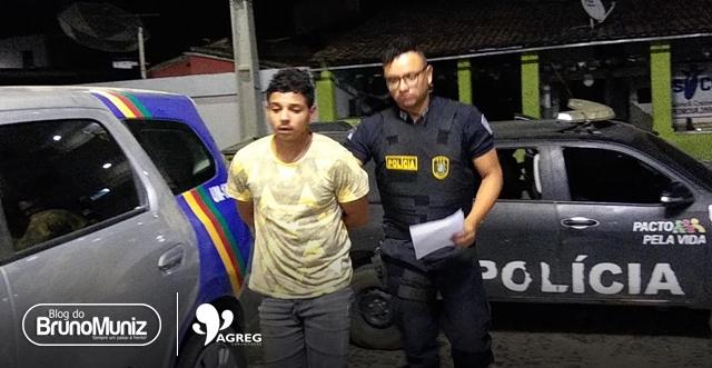 Homem é detido com arma de fogo e munições em Santa Cruz do Capibaribe