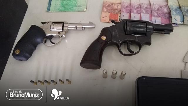 Indivíduos são detidos durante assalto a uma banca de aposta no distrito de São Domingos