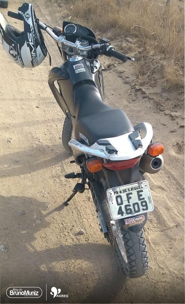 Moto roubada na cidade de Toritama é recuperada em Santa Cruz do Capibaribe, Agreste de Pernambuco