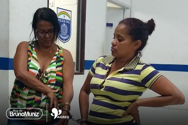 Mulheres são presas acusadas de crimes no Moda Center Santa Cruz