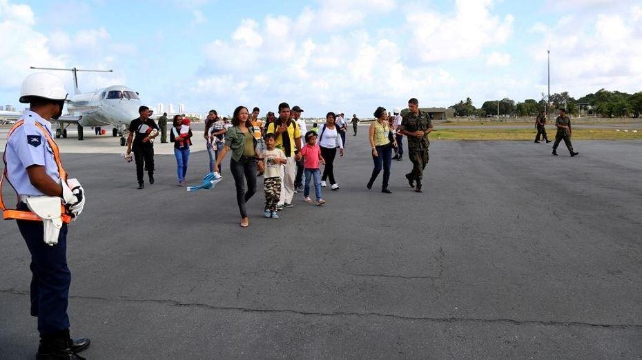 Pernambuco recebe mais de 240 refugiados da Venezuela