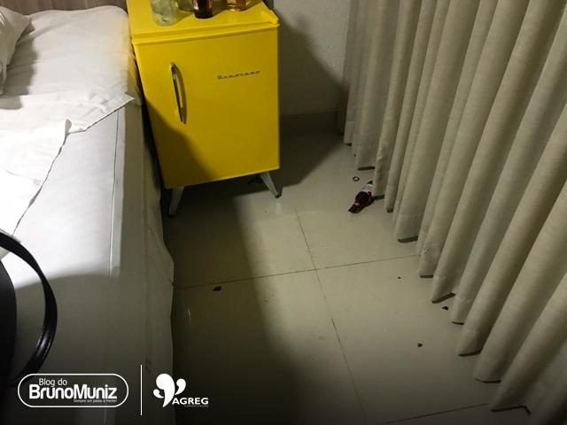 Homem promove quebra-quebra em quarto de motel e se recusa a pagar dano em Santa Cruz do Capibaribe
