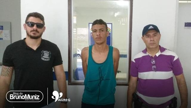 Assaltante é identificado em bar e detido em Santa Cruz do Capibaribe
