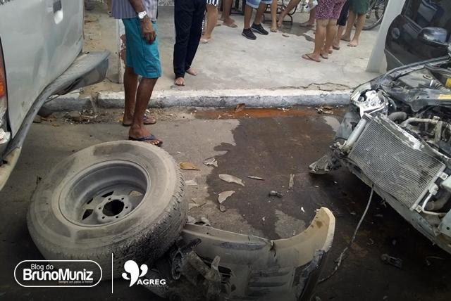 Acidente é registrado em avenida de Santa Cruz do Capibaribe e moradores pedem implantação de lombadas