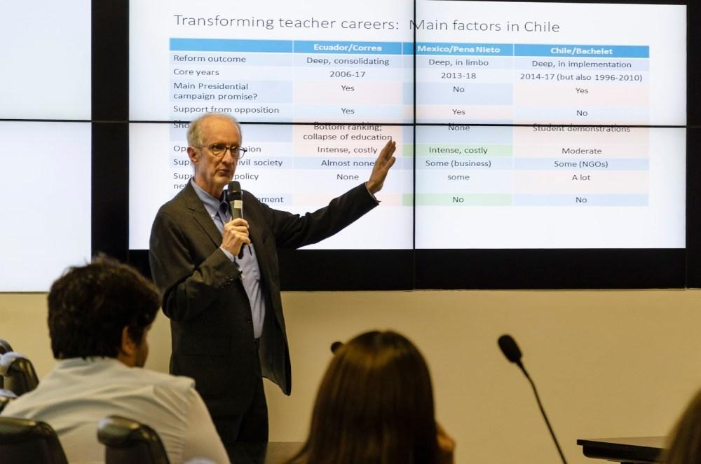 Cientista político do MIT fala sobre reformas educacionais em países em desenvolvimento