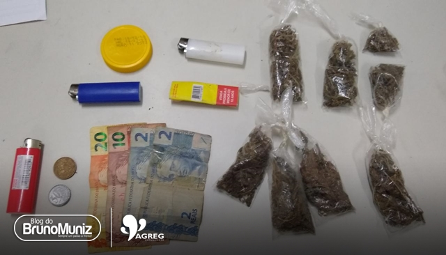 Dois indivíduos são detidos com entorpecentes em São Domingos, distrito de Brejo da Madre de Deus