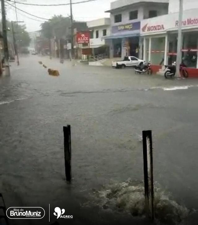 Pernambuco – Fortes chuvas são registradas em Belém de Maria, Catende e Joaquim Nabuco