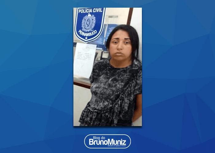 Mulher acusada de tráfico de drogas é presa com 5kg de maconha em Santa Cruz do Capibaribe