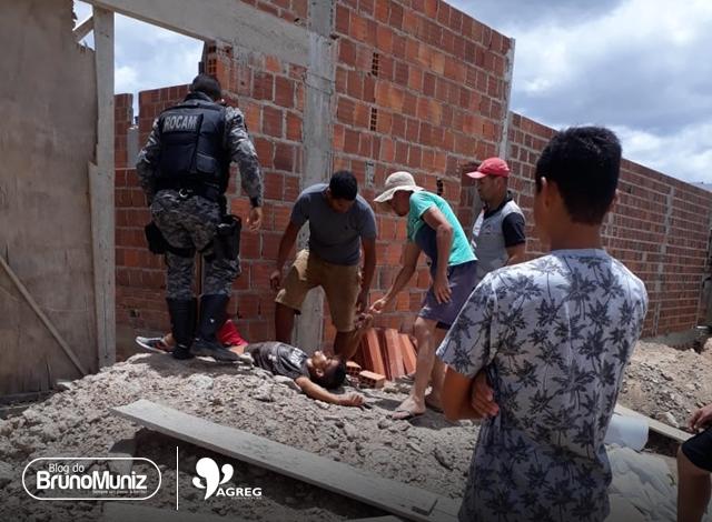 Mulher fica ferida após assalto no município de Caruaru