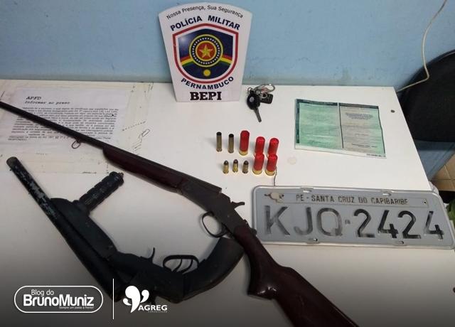 Dois indivíduos morrem após troca de tiros com o BEPI na zona rural de Caruaru
