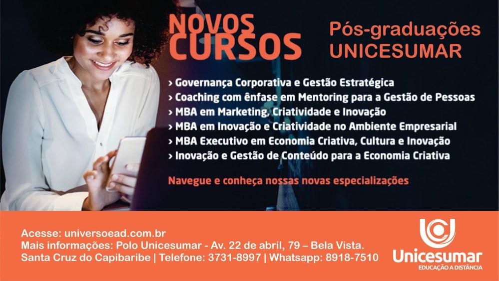 Unicesumar lança novos cursos de Pós-graduação
