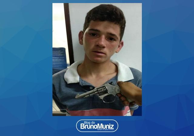 Indivíduo é detido por porte ilegal de arma de fogo em Santa Cruz do Capibaribe