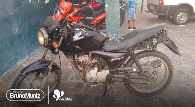 Homem é detido com motocicleta adulterada em Santa Cruz do Capibaribe