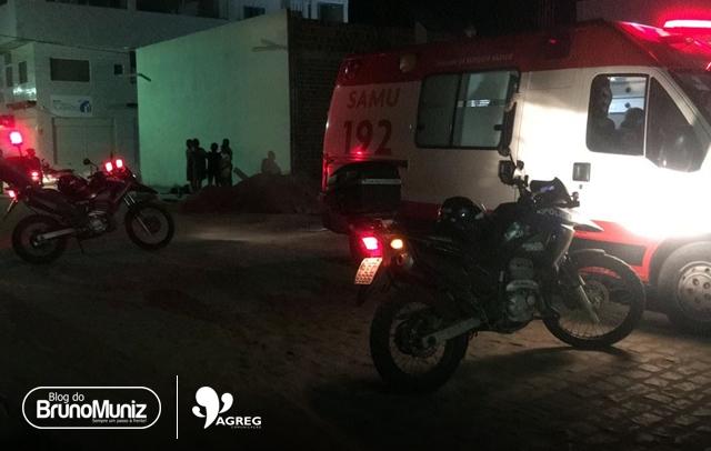 Acidente é registrado no bairro São Miguel em Santa Cruz do Capibaribe