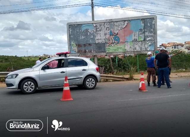 Acidente é registrado em Santa Cruz do Capibaribe