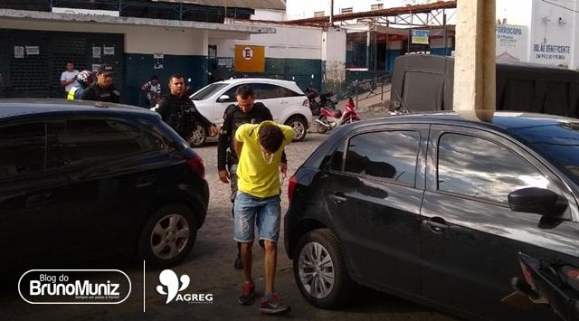 Indivíduo é detido com arma de fogo em Santa Cruz do Capibaribe