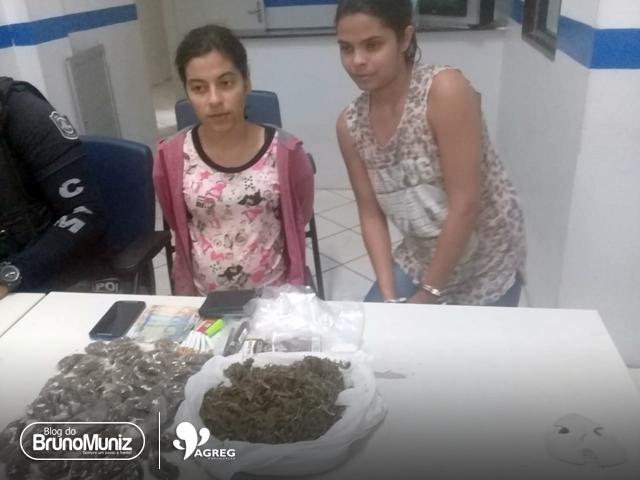 Mulheres são presas sob suspeita de tráfico de drogas em Toritama