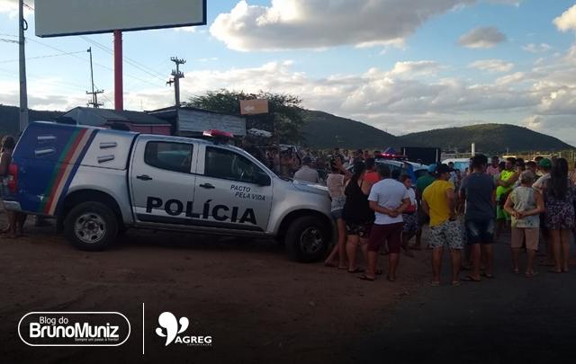 Homem é morto a tiros em Pão de Açúcar, distrito de Taquaritinga do Norte