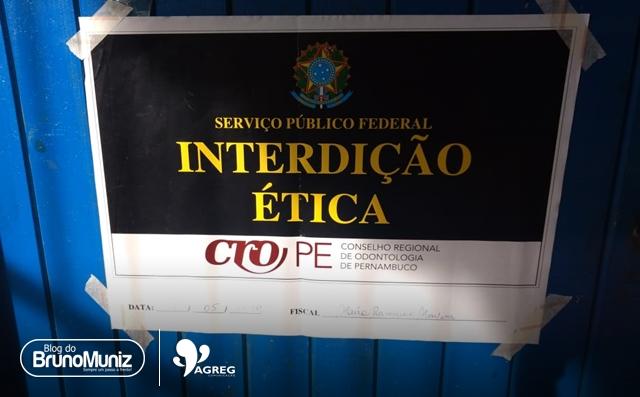 CRO lacra consultório odontológico em posto de saúde de Santa Cruz do Capibaribe