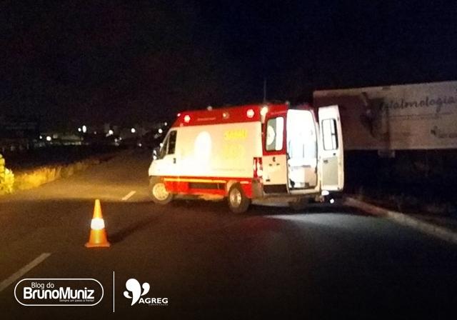 Homem fica ferido após acidente em Santa Cruz do Capibaribe