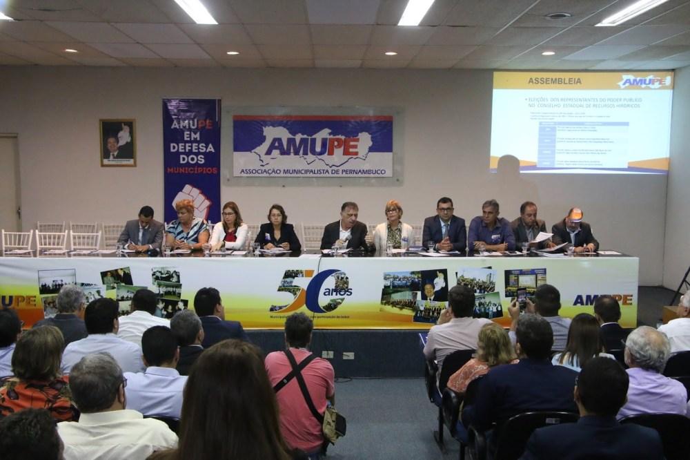 Conselho Estadual de Recursos Hídricos foi Eleito Durante Assembleia da Amupe