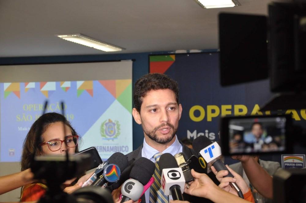 São João 2019 tem reforço de 28.152 postos de trabalho da segurança em Pernambuco