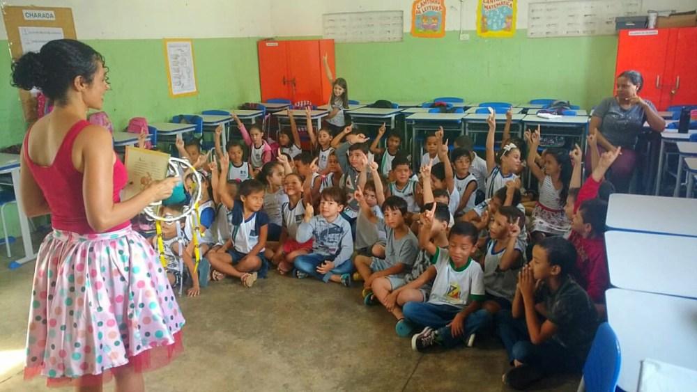 """Instituto UESCC leva projeto """"Contação de Histórias"""" para Escolas Públicas de Santa Cruz do Capibaribe"""