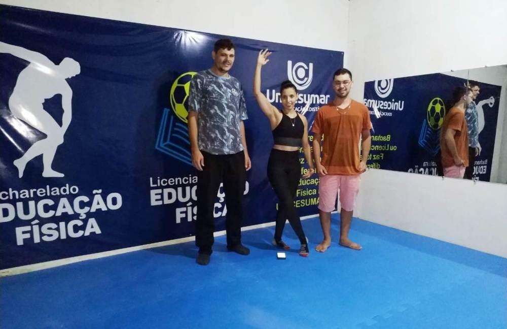 Alunos da Unicesumar realizam atividade prática do curso de Educação Física