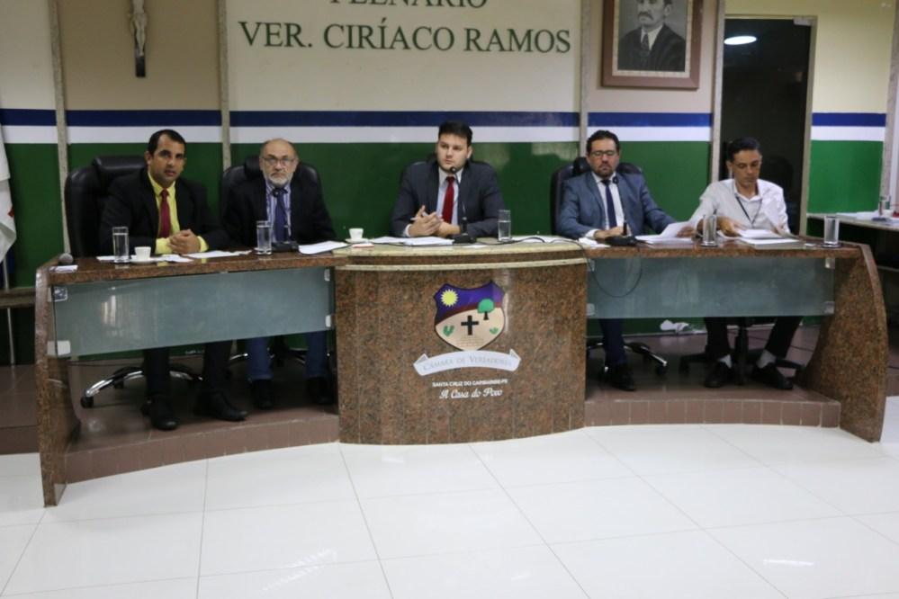 Câmara de Santa Cruz instala Comissão de Ética e Decoro Parlamentar