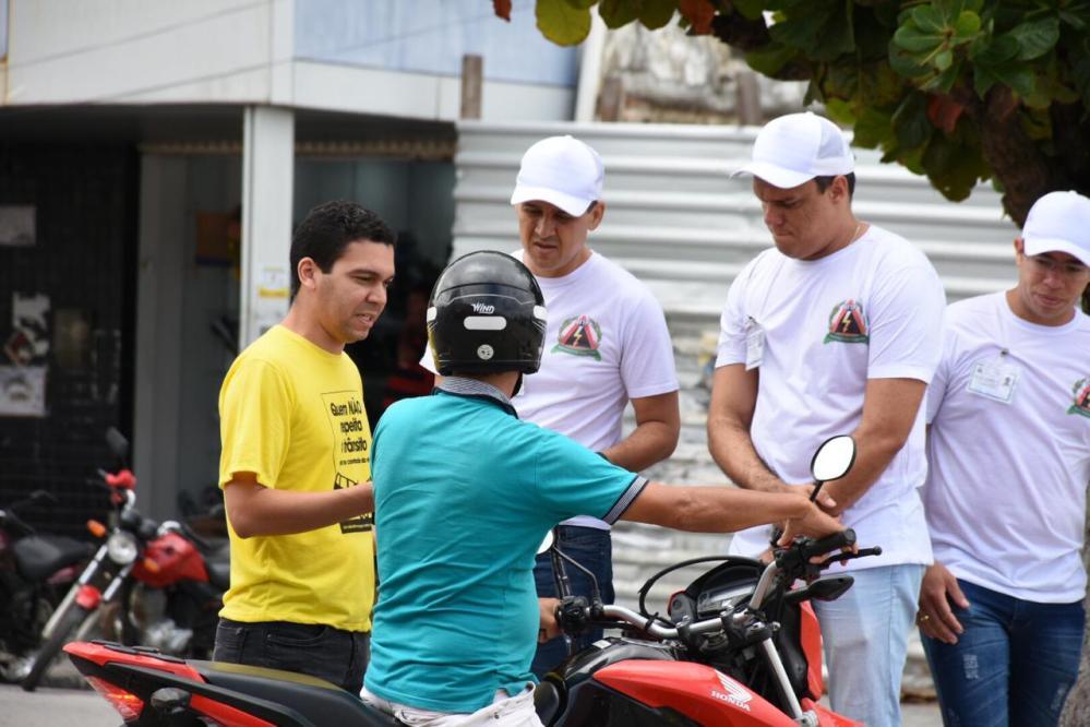Maio Amarelo é comemorado em Santa Cruz do Capibaribe com ações de educação no trânsito