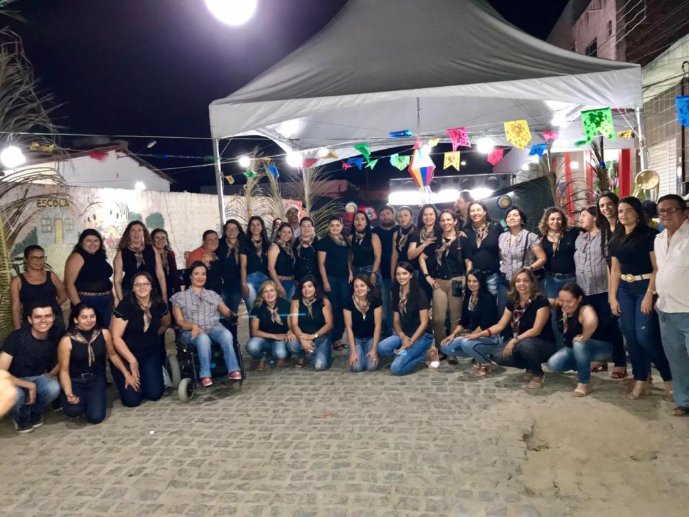 São João da rede municipal de ensino é iniciado em Santa Cruz do Capibaribe