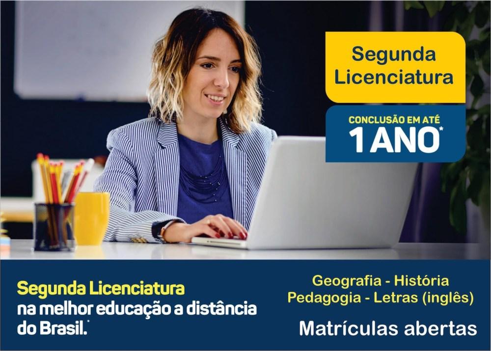 Unicesumar oferece cursos de 2ª Licenciatura com duração de 1 ano