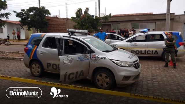 Santa Cruz do Capibaribe – Em tiroteio, policiais são baleados e um deles acaba morrendo