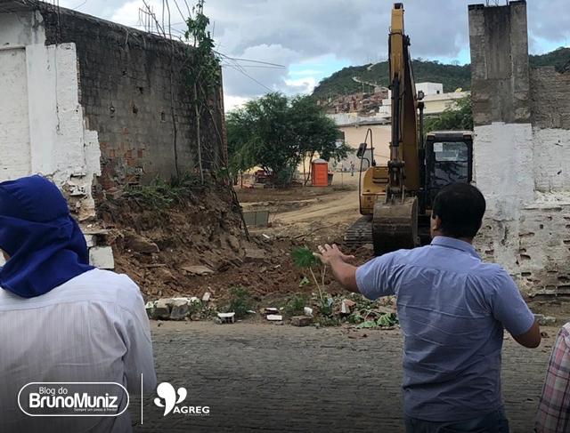 Desvio alternativo está sendo feito em Santa Cruz do Capibaribe após interdição de ponte